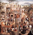 Hans Memling Scenes from the Passion of Christ [detail 2] painting